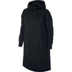 Kurtka Nike Wmns NSW Jacket Long Novelty (932059-010). Czarne kurtki damskie marki Alpha Industries, z materiału. Za 319,99 zł.