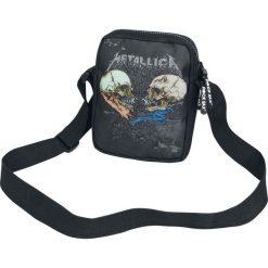 Metallica Sad But True Torba na ramię czarny. Czarne torby na ramię męskie Metallica, w paski, na ramię. Za 79,90 zł.