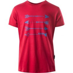 T-shirty chłopięce: Hi-tec Koszulka Skote junior boy czerwony r.164