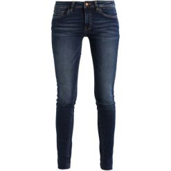 Q/S designed by SUPER LEG Jeans Skinny Fit dark blue denim/heavy. Niebieskie boyfriendy damskie Q/S designed by. Za 169,00 zł.