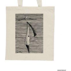 Shopper bag damskie: Kapelusz – torba – 2 kolory