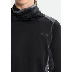 The North Face BRAVE THE COLD  Koszulka sportowa dark grey heather. Szare topy sportowe damskie marki The North Face, s, z materiału. W wyprzedaży za 174,50 zł.
