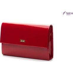 Listonoszki damskie: Czerwona damska kopertówka Felice  NEVAEH