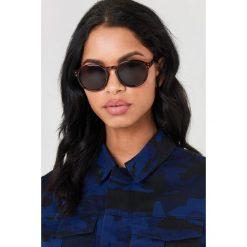 Okulary przeciwsłoneczne damskie aviatory: Cheap Monday Okulary przeciwsłoneczne Cytric – Brown,Multicolor