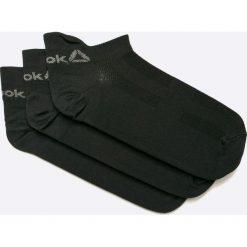 Reebok - Skarpetki. Czarne skarpetki damskie Reebok, z elastanu. W wyprzedaży za 44,90 zł.