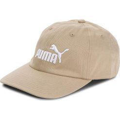 Czapka PUMA - Ess Cap 052919  Pebble-N. 1 White 66. Brązowe czapki damskie Puma, z bawełny. Za 59,00 zł.
