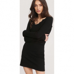 Czarna Sukienka Association. Czarne sukienki dzianinowe marki other, l. Za 49,99 zł.