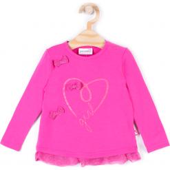 Koszulka. Szare bluzki dziewczęce bawełniane SWEET HEART, z długim rękawem. Za 19,90 zł.