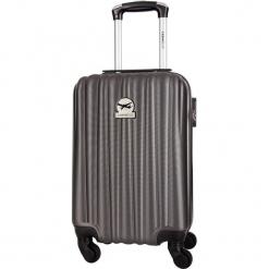 Walizka w kolorze antracytowym - 30 l. Szare walizki marki Travel One, z materiału. W wyprzedaży za 159,95 zł.