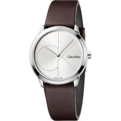 ZEGAREK CALVIN KLEIN MINIMAL K3M221G6. Szare zegarki damskie marki Calvin Klein, szklane. Za 769,00 zł.