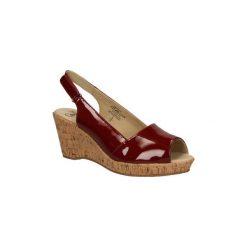 Sandały Caprice  SANDAŁY  9-28353-24. Brązowe sandały damskie Caprice. Za 169,99 zł.