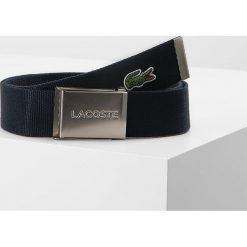 Paski damskie: Lacoste BELT Pasek navy blue