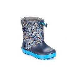 Śniegowce Dziecko Crocs  CROCBAND LODGEPOINT GRAPHIC K. Szare buty zimowe chłopięce Crocs. Za 239,00 zł.