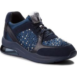 Sneakersy LIU JO - Karlie 05 B68003 TX003 Blue 09361. Niebieskie sneakersy damskie Liu Jo, z materiału. Za 739,00 zł.