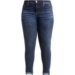 Ashley Graham x Marina Rinaldi IDRANTE Jeans Skinny Fit hellblau. Niebieskie jeansy damskie relaxed fit Ashley Graham x Marina Rinaldi, z bawełny. W wyprzedaży za 671,30 zł.