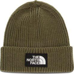 Czapka THE NORTH FACE - Tnf Logo Box Cuf Bne T93FJX21L New Taupe Green. Zielone czapki męskie The North Face, z elastanu. Za 129,00 zł.