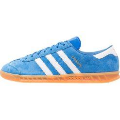Adidas Originals HAMBURG Tenisówki i Trampki bluebird/white. Szare tenisówki damskie marki adidas Originals, z gumy. W wyprzedaży za 339,15 zł.