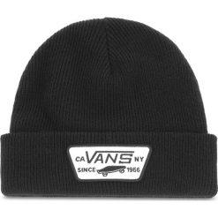 Czapka VANS - Milford Beanie VN000UOUBLK  Black. Czarne czapki męskie Vans, z materiału. Za 89,00 zł.