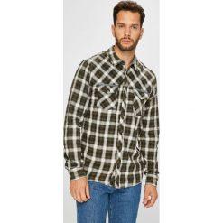 Blend - Koszula. Szare koszule męskie na spinki marki S.Oliver, l, z bawełny, z włoskim kołnierzykiem, z długim rękawem. Za 169,90 zł.