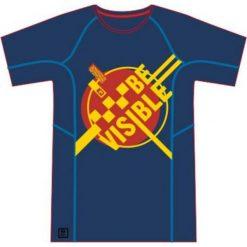 IQ Koszulka męska OVED Navy Peony/ Valiant Poppy r. L. Szare koszulki sportowe męskie marki IQ, l. Za 61,97 zł.