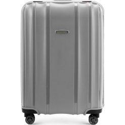 Walizka średnia 56-3T-732-70. Szare walizki marki Wittchen, średnie. Za 259,00 zł.