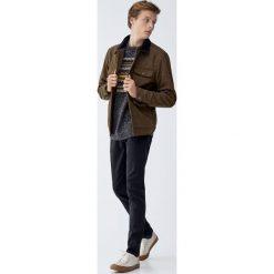 Jeansy slim fit. Czarne jeansy męskie regular Pull&Bear, z jeansu. Za 139,00 zł.