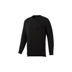 Polary Reebok Sport  Bluza Training Supply Crew. Czarne bluzy męskie Reebok Sport, l. Za 279,00 zł.
