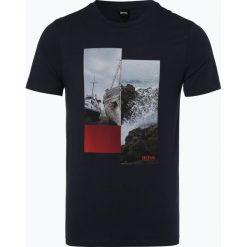 BOSS Casual - T-shirt męski – TLax 2, niebieski. Niebieskie t-shirty męskie z nadrukiem BOSS Casual, l. Za 179,95 zł.