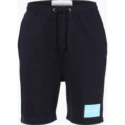 Calvin Klein Jeans - Spodenki męskie, niebieski. Niebieskie spodenki jeansowe męskie marki ARTENGO, l. Za 229,95 zł.