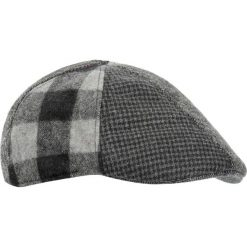 Czapka męska. Brązowe czapki męskie Ochnik, z dzianiny, eleganckie. Za 129,90 zł.