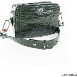 Torebka Greenissimo Crocodile. Szare torebki klasyczne damskie Pakamera, ze skóry, duże. Za 420,00 zł.