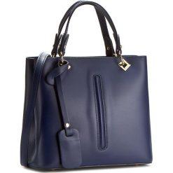 Torebka CREOLE - K10298 Ciemny Niebieski. Niebieskie torebki klasyczne damskie Creole, ze skóry. W wyprzedaży za 239,00 zł.