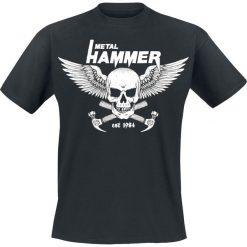 Metal Hammer New Skull T-Shirt czarny. Czarne t-shirty męskie z nadrukiem Metal Hammer, m, z okrągłym kołnierzem. Za 74,90 zł.