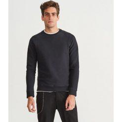 Dzianinowa bluza - Szary. Szare bluzy męskie Reserved, l, z dzianiny. Za 79,99 zł.