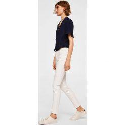 Mango - Jeansy Elektra. Białe jeansy damskie marki Mango. Za 129,90 zł.