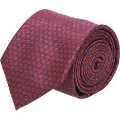 Krawat platinum bordo classic 244. Brązowe krawaty męskie Recman. Za 49,00 zł.