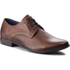 Półbuty SERGIO BARDI - Braone SS127348818PL 104. Brązowe buty wizytowe męskie Sergio Bardi, z materiału. W wyprzedaży za 179,00 zł.