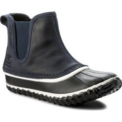 Botki damskie lity: Sztyblety SOREL - Out N About Chelsea NL2410 Collegiate Navy 464