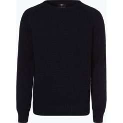 Fynch Hatton - Sweter męski, niebieski. Niebieskie swetry klasyczne męskie Fynch-Hatton, l. Za 399,95 zł.