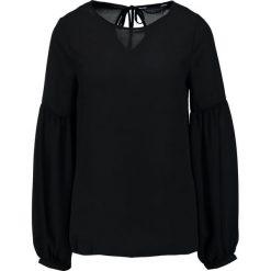 Bluzki asymetryczne: Dorothy Perkins Tall BALOON Bluzka black