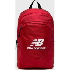 New Balance - Plecak. Czerwone plecaki damskie New Balance, z poliesteru. Za 99,90 zł.
