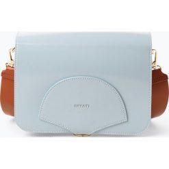 Inyati - Damska torebka na ramię, niebieski. Niebieskie torebki klasyczne damskie Inyati, w paski. Za 299,95 zł.