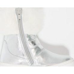 Friboo Botki silver. Czerwone botki damskie skórzane marki Friboo. W wyprzedaży za 135,85 zł.