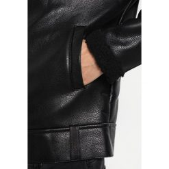 Liquor N Poker BORG Kurtka ze skóry ekologicznej black. Czarne kurtki męskie Liquor N Poker. Za 319,00 zł.