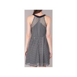 Sukienki krótkie Morgan  RAYA. Sukienki małe czarne marki Morgan, z krótkim rękawem. Za 213,50 zł.