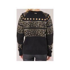 Bluzy MICHAEL Michael Kors  STUD SWEATSHIRT. Żółte bluzy damskie marki MICHAEL Michael Kors, ze skóry. Za 1039,20 zł.