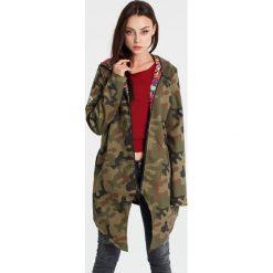 Bomberki damskie: Naoko - Kurtka dwustronna Camouflage Fleurs x Edyta Górniak