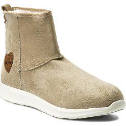 Botki PEPE JEANS - Amanda Boot PGS30310 Sand 847. Brązowe buty zimowe damskie Pepe Jeans, z jeansu. W wyprzedaży za 169,00 zł.