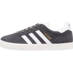 Adidas Originals GAZELLE Tenisówki i Trampki solid grey/white/gold metallic. Szare tenisówki damskie marki adidas Originals, z materiału. Za 399,00 zł.