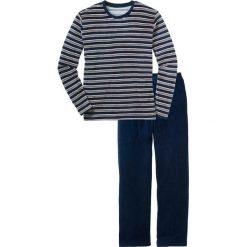 """Piżama """"Nicky"""" bonprix ciemnoniebieski w paski. Niebieskie piżamy męskie bonprix, l, w paski. Za 109,99 zł."""